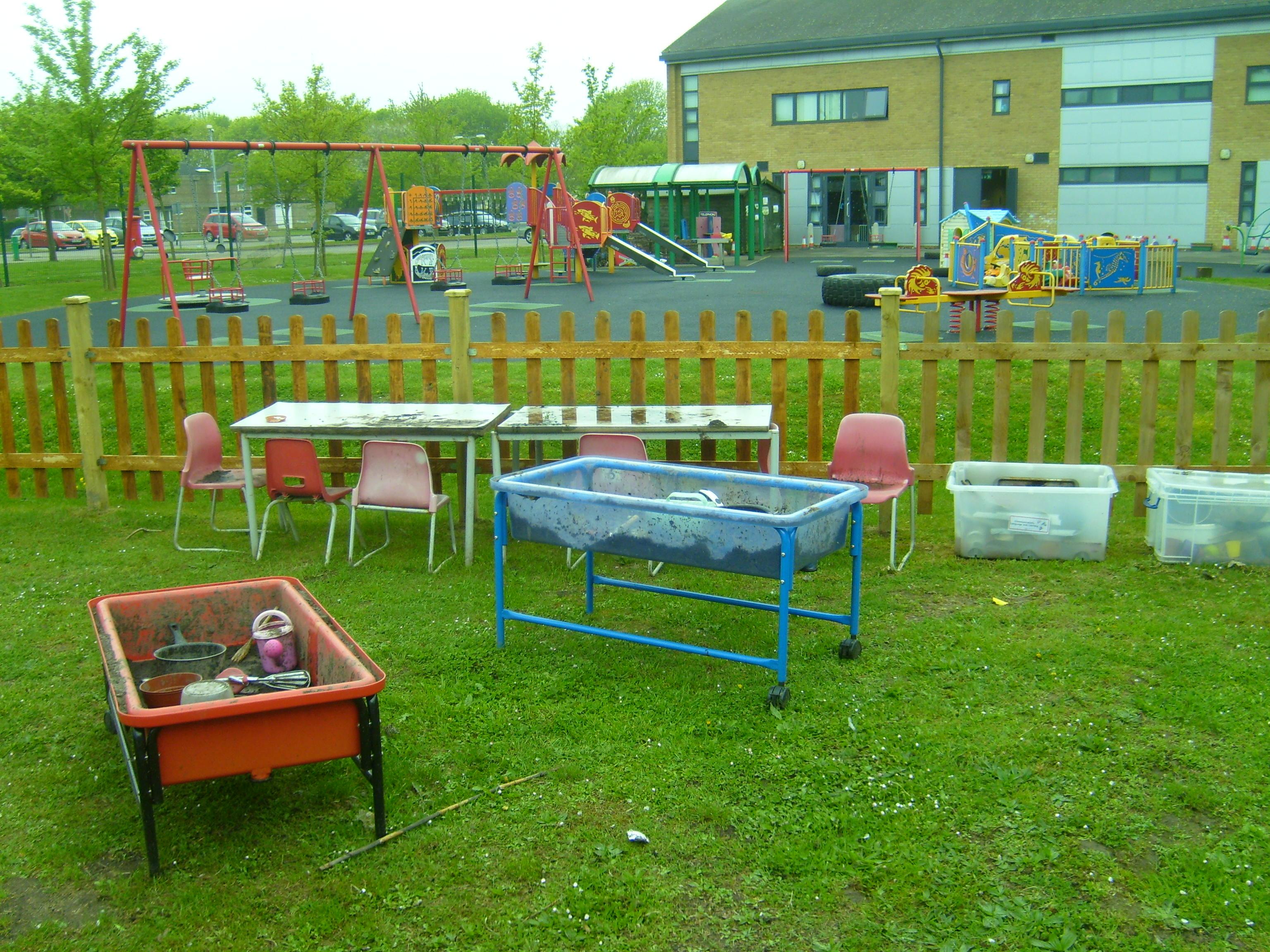 Preschool Kitchen Furniture Mud Kitchen And Forest School News St Nicholas Preschool And Nursery